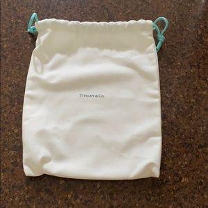 Tiffany & Co medium cloth bag